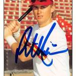 Phil Nevin autographed baseball card (Houston Astros SC) 1994 Fleer Excel #207