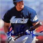 Phil Plantier autographed baseball card (Houston Astros) 1995 Upper Deck #273