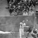 Rick Monday hits a home run in the ninth inning to lead the Los Angeles Dodgers over the Montreal Expos