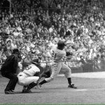 Bert Campaneris of the Oakland A's steals five bases in an 8-7 victory over the Cleveland Indians.