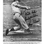 """Roger Maris Autographed 8x10 Photo New York Yankees """"To Nick Best Wishes"""" 61st HR Shot #Z28558 - JSA Certified"""
