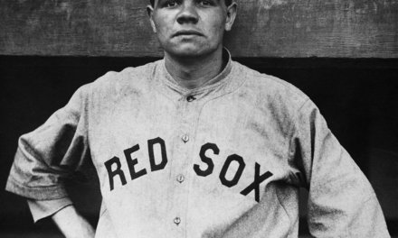 Babe Ruth breaks Ned Williamson's single season homerun record with his 28th