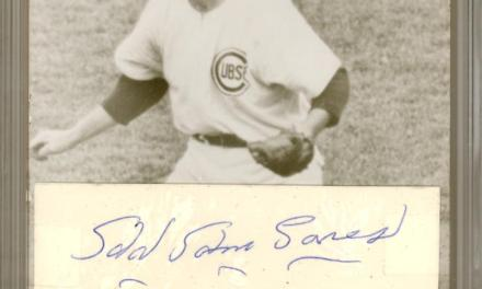 Toothpick Sam Jones of the Chicago Cubs becomes the first black pitcher in major league history to throw a no-hitter
