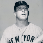 Mickey Mantle of the New York Yankees signs a one-year contract worth $65,000