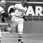 Roberto Clemente of the Pittsburgh Pirates posts his second consecutive five-hit game