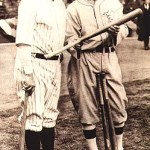 Babe Ruth hits two home runs to lead the New York Yankees to clinch pennant