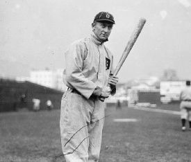 Ty Cobb 35 game hitting streak halted
