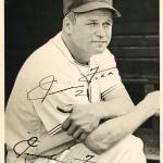 Autographed Jimmie Foxx Photo - Phenomenal 1930s Certified #Z22622 - JSA Certified