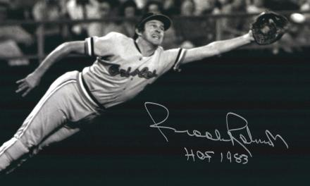 perennial Gold Glove winner Brooks Robinson commits three errors in one game for the first time in his career