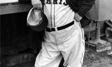 John McGraw is hit by pitches five times