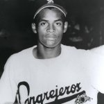 Roberto Clemente's smash to straight-away center provides the margin of victory in Puerto Rico's 1 - 0