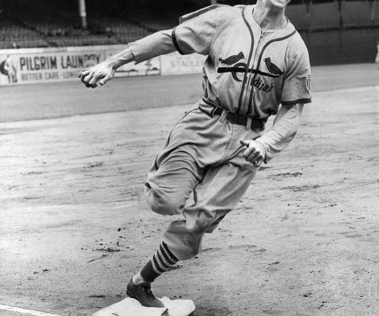 "St. Louis Cardinals sign 16-year-old Stan ""The Man"" Musial to his first professional contract"