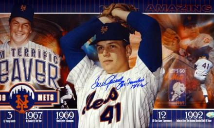 Tom Seaver becomes the first major league pitcher to reach the 200-strikeout plateau in eight consecutive seasons