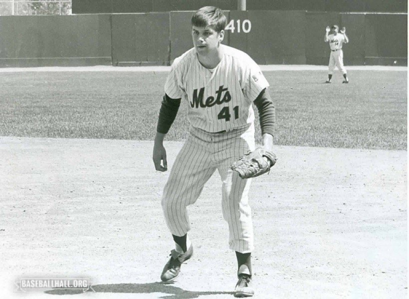 New York Mets pitcher Tom Seaver is named National League Rookie of the Year by the BBWAA