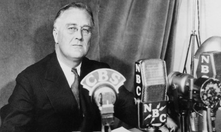 Play is halted as FDR announces the Proclamation of an Unlimited National Emergency