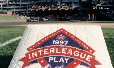 After 126 years the first interleague game is played