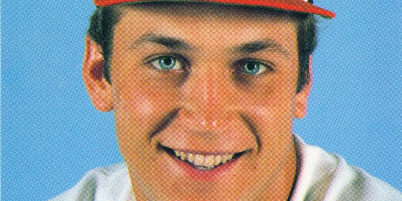Cal Ripken Jr. of the Baltimore Orioles wins the American League's Rookie of the Year Award.