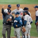Jay Howell ejection in 7 th inning of game 3 of Nlcs
