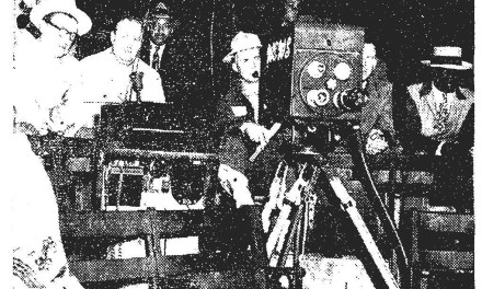 First Negro League Game televised
