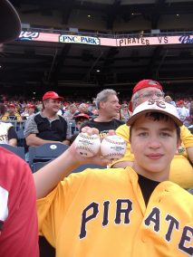 PNC Park Two Game Balls