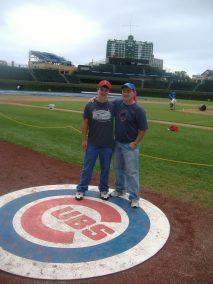 Wrigley Field Ball Park Trip 2009
