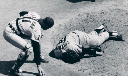Joe Coleman was knocked unconscious by a line drive