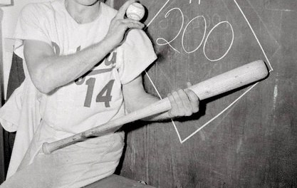 Gil Hodges hits 200th Homerun