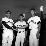Jesus, Matty, and Felipe Alou Make History: All three brothers played in the same outfield on September 15, 17 & 22, 1963.