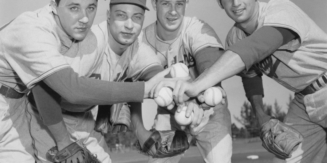 Billy Loes, Johnny Podres, Karl Spooner and Sandy Koufax