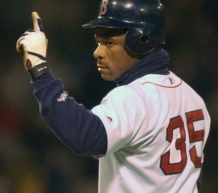 Rickey Henderson's makes the Red Sox Opening Day roster