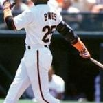 Barry Bonds becomes only the fourth player in major league history to amass 300 home runs and 300 stolen bases when he homers in the 3rd inning in the San Francisco Giants' 6 - 3 victory over the Florida Marlins. His father, Bobby Bonds, along with godfather Willie Mays and Andre Dawson are the only other players to reach 300-300.
