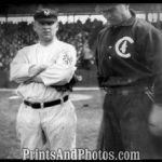 John McGraw starts his 30 year career with the Giants