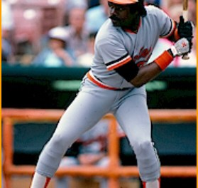 Baltimore Orioles first baseman Eddie Murray is named American League Rookie of the Year