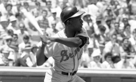Hank Aaron becomes the first major league player to reach 3000 hits and 500 homeruns