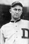 Due to his assault on Claude Lucker, a handicapped fan and a regular heckler, Ty Cobb is suspended.