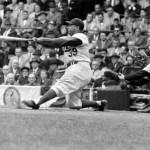 World Series Roy Campanella at Ebbets Field