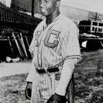 Jackie Robinson debuts with Kansas city