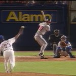 Chipper Jones hits his first homerun