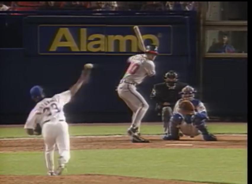 Chipper Jones hits his first homerun