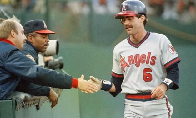Bill Buckner signs with Angels