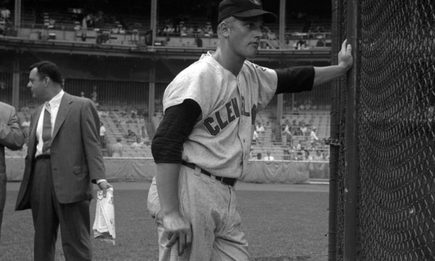 Roger Maris awaits BP his first game at Yankee Stadium
