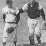 1967 San Francisco Giants Ray Sadecki and Tom Haller