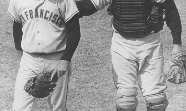 1967 San Francisco Giants Ray Sadecki and Tom Haller