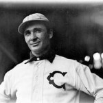 August 21, 1903 - Ducky Holmes, White Stockings OF, has four assists in a game, tying the major league record. But his team still loses 11 - 3 to Cy Young and the Boston Americans.