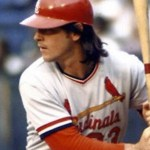 Ted Simmons losses a homerun because of illegal bat