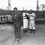 Babe Ruth makes his final appearance at Fenway
