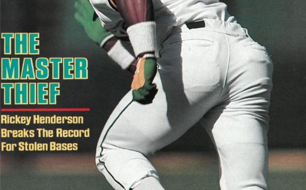 Rickey Henderson si cover September 6 1982