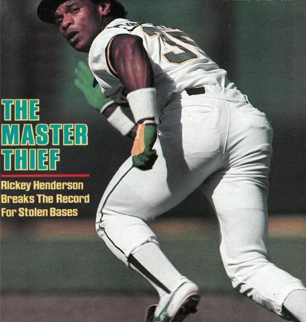 Rickey Henderson si cover September 6 1982