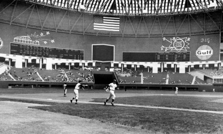 Exhibition game at the Astrodome