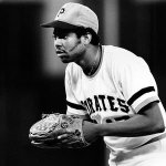 Dock Ellis walks a batter without ever throwing a pitch to him.